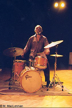 Denis Charles at the drums